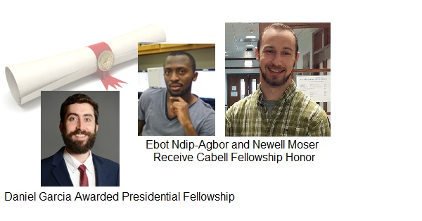 AMPL Members Receive Presidential and Cabell Fellowships