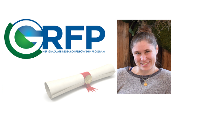 2019 NSF Graduate Research Fellowship Awarded to Samantha Webster
