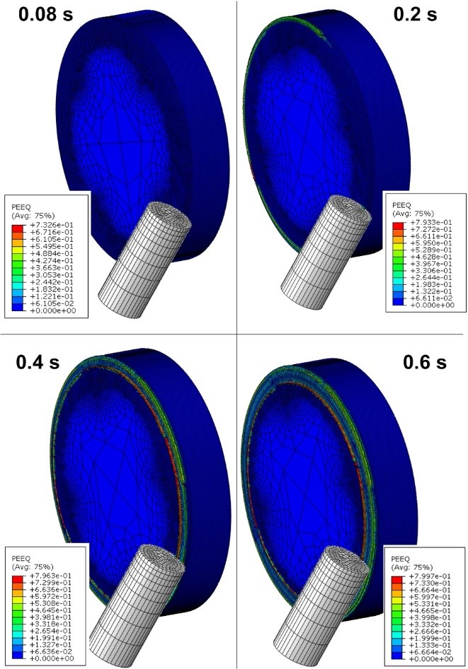 Finite Element Simulation of Rock Face Turning Process